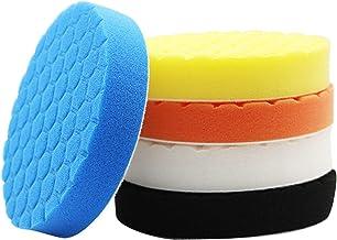 MeiZi 2020 Nieuwe aankomst 5 STKS Buffering Polijsten Pad Kit Fit voor Auto Polisher 3/4/5/6/7 Inch (Color : 7 inch)