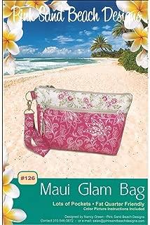 Pink Sand Beach Design Pink Sand Beach Ptrn Maui Glam Bag Pattern