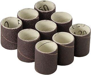 3x4-1//2 Aluminum Oxide 50 Grit Spiral Band Sanding Sleeves Spiral Bands 50-Pack,abrasives A/&H Abrasives 878694 Aluminum Oxide