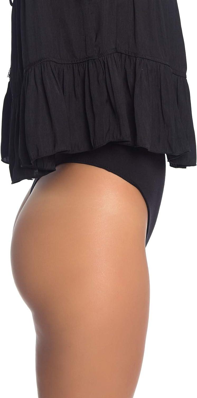 Free People Pretty Please Bodysuit Black MD (Women's 8-10)