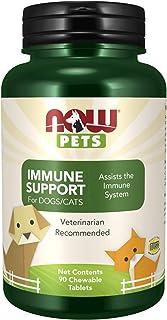 NOW Foods Animales Domesticos. Para El Sistema Inmunitario 90 Unidades 180 g