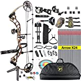 TOPOINT Trigon Compound Bow Full Package,CNC Milling Riser,USA Gordon Composites...