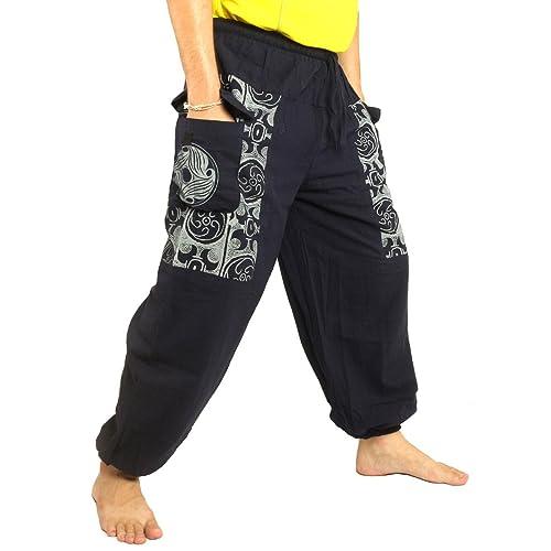 029b43d22f jing shop Casual Boho Pants Print Soft Cotton