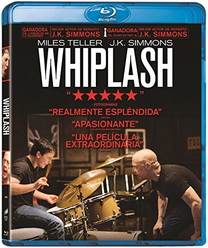 Whiplash Blu Ray [Blu-ray]