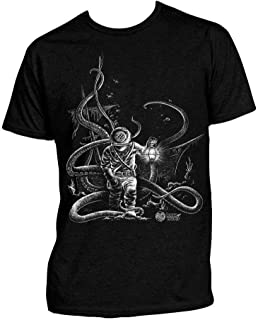 Scuba Diving T-Shirt: Deep Sea Hard Hat Diver