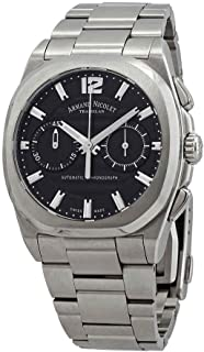 Armand Nicolet J09-02 Chronograph Automatic Black Dial Men's Watch A654AAA-NR-MA4650AA