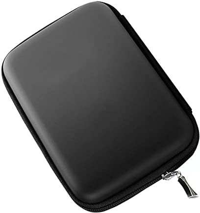 "Hosaire Funda para Disco Duro Externo 2.5"" para WD Western Digital My Passport Ultra Elements/Samsung/Toshiba Canvio Basics/Seagate Backup Plus Slim portátil 1TB 2TB USB 3.0 (Negro)"