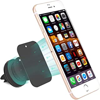 MMOBIEL Universal Air Vent Magnetic CAR Mount Holder Compatible with Various Smartphones and Mini Tablets etc
