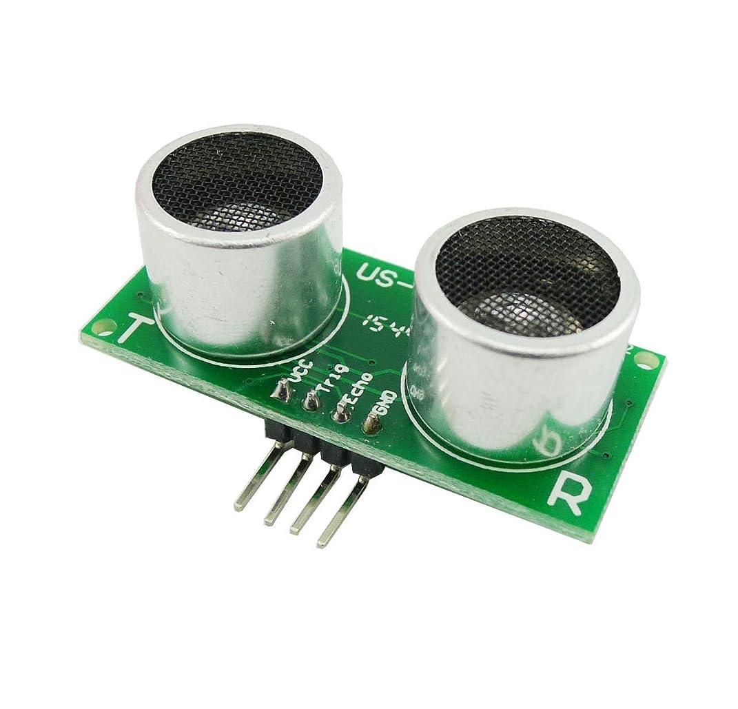 介入するフリルパンKKHMF US-015超音波距離測定モジュールセンサーArduino用