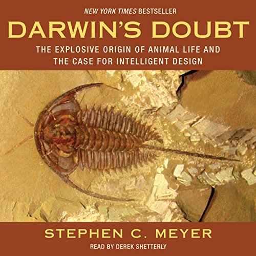 Darwin's Doubt audiobook cover art