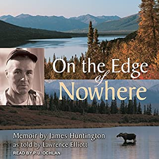 On the Edge of Nowhere audiobook cover art