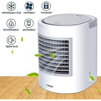 Version 2019 Ventilateur Climatiseur Humidificateur Purificateur dair 3 Fichiers avec 7 Couleurs Veilleuse Refroidisseur dAir Climatiseur Arctic Mini Air Cooler Multifonction 3 en 1