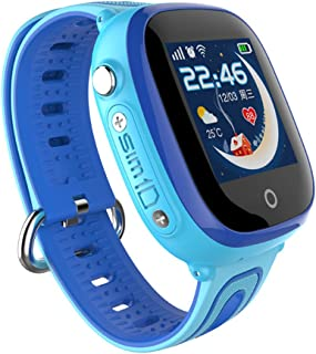 PINCHU IP67 Waterproof Smart Safe GPS LBS Location Touch Screen SOS Call Wristwatch Kid Child