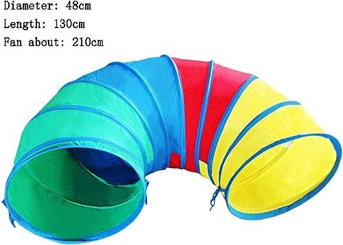 Game Tent-Jack Kind Erwachsener Sonnenkanal Crawling Tube Sinn für Training Spielzeug Spiele für Kinder Spiele für Kinder