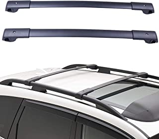 ECCPP Roof Rack Cross Bar Roof Rack Cross Bars Luggage Cargo Carrier Rails Fit for 2014-2018 Subaru Forester Wagon 2.0L 2.5L,Aluminum Alloy