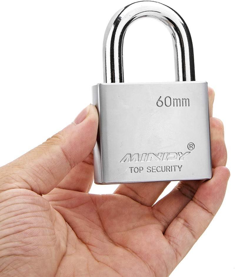 40mm Heavy Duty Lock Warehouse Waterproof Keyed Padlock High Security Padlock with 4 Keys