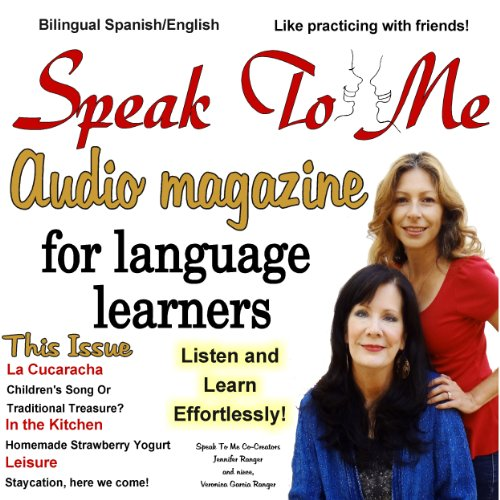 Speak to Me audiobook cover art