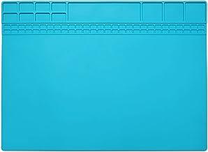 Hittebestendige siliconen solderen project mat pad geschenken anti-slip reparatie mat voor soldeerbout reparatie geschenk ...