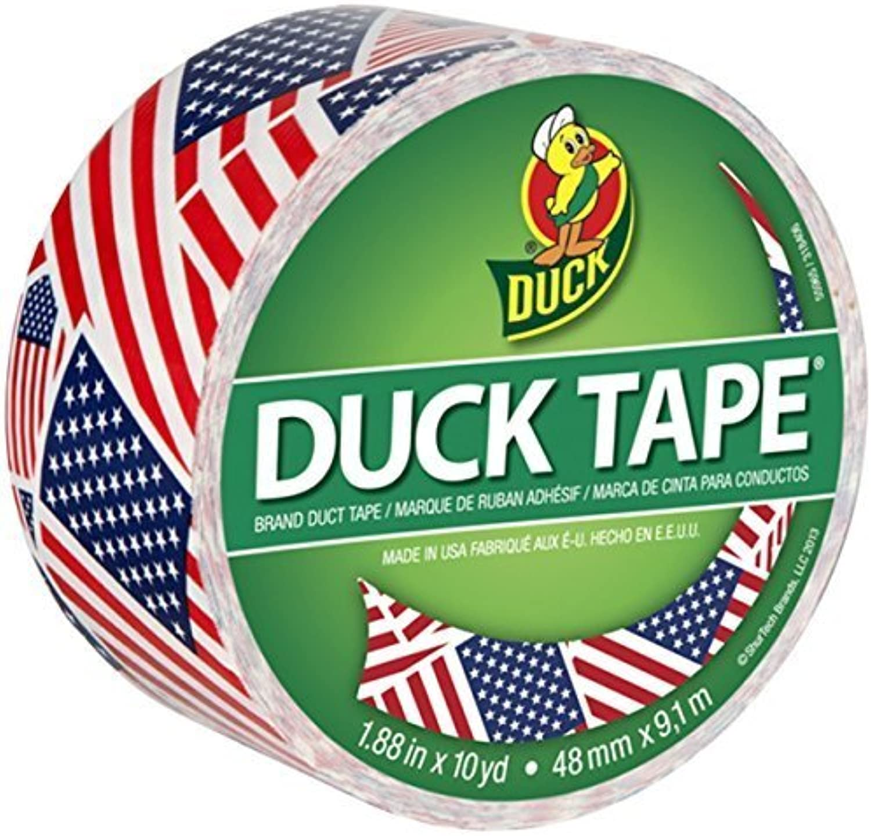 Duck 283046 1.88 X 10 Yards Yards Yards U.S. Flag Duck Tape® by Duck B0149IELLM | Qualifizierte Herstellung  a964bc
