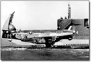 USS Grayback Submarine Prepares Regulus II Missile 30x45 Silver Halide Photo Print