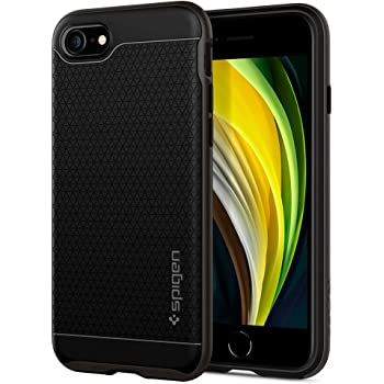 Spigen Neo Hybrid [2nd Generation] Designed for iPhone SE 2020 Case/Designed for iPhone 8 Case (2017) / Designed for iPhone 7 Case (2016) - Gunmetal