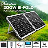 200W Folding Solar Panel with Charge Controller