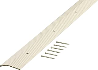 M-D Building Products 74187 Fluted 1-3/8-Inch by 36-Inch Carpet Trim,  Almond