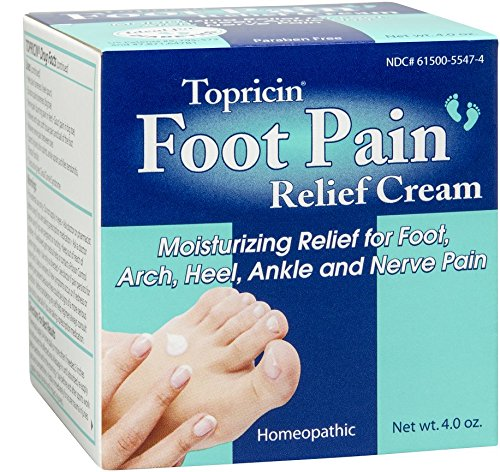 Topricin Foot Pain Relief Cream, 4