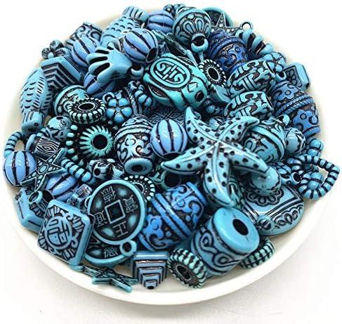 WEIYUE 20G Acryl Kralen Mengen Kralen Stijl Handgemaakte Armband Sieraden Maken Accessoires