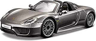 Bburago 1:24 Scale Porsche 918 Spyder Diecast Vehicle (Colors May Vary)