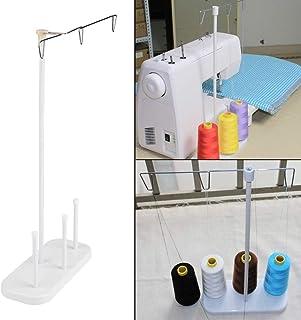 Support de fil de couture de Delaman support r/églable de support de bobine de fil de broderie de 3 c/ônes pour la machine /à coudre