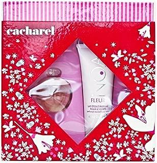 Cacharel Noa Fleur 2PCS Gift Set for Women (50 ml / 1.7 oz EDT Spray and 100 ml / 3.4 oz Body Lotion)