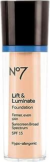 Boots No7 Lift & Luminate Foundation Deeply Honey