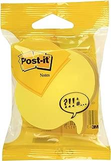 Post-it 2007SP - Notas adhesivas, 70 x 70 mm,multicolor (amarillo /neón /gris)