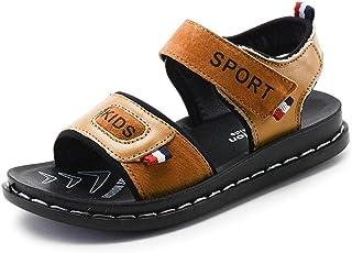 affc7de44226 Children s Sandals Leather Shoes Children Beach Shoes Sandals Kids  Breathable Shoes