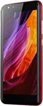 Smartphone Unlocked Cell Phones 5.5''Ultrathin Unlocked Android 6.0 Octa-Core 512MB+4GB GSM 3G WiFi Dual Smartphone (ONE, Red)