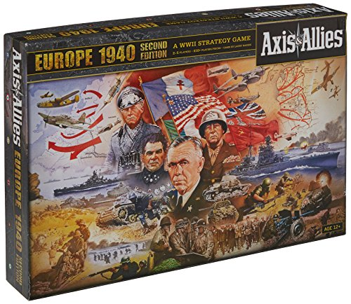 Avalon A06270000 Board Game - Axis & Allies - Europa 1940 - Ausgabe 2012 - Sprache: Englisch