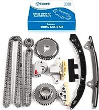 ECCPP Engine Timing Chain Kit for 2.5L Nissan Frontier Suzuki Equator DOHC 16v QR25DE