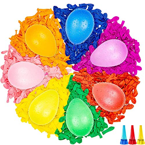 Water Balloons Instant Balloons Self-Sealing Quick Fill Balloons with...