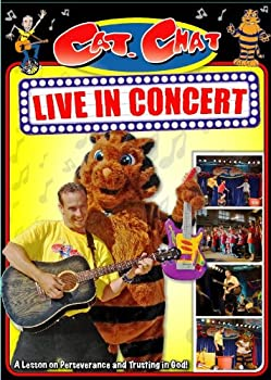 DVD Cat. Chat Live in Concert A Lesson on Perseverance and Trusting in God Book