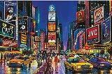MTAMMD Puzzles New York Times Square El Rompecabezas De Madera 1000 1500 Piezas Ersion Jigsaw Puzzle Juguetes Educativos para Niños Adultos-1000Pieces