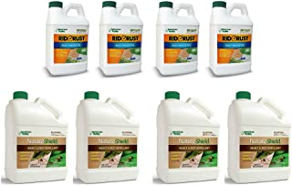 Pro Products Pack Rid O' Rust Stain Preventer and NatureShield Insect Pest Repellant, 8 Bottles Total
