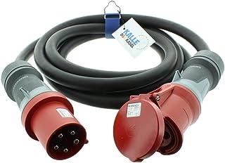 Cable de extensión CEE de goma H07RN-F 5G 16,0mm² 400V 63A de Kalle el cable