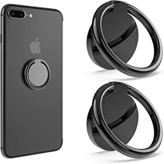 Bonslan Anillo Soporte Móvil,Titular teléfono Anillo Soporte para Movil 360° rotación,Soporte Teléfono,Ring Stand Holder p...