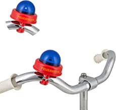 Smart Planet Fietssirene - brandweerfietsbel - fietssirene - grappige brandweersirene voor kinderen - fietsbel voor het fi...