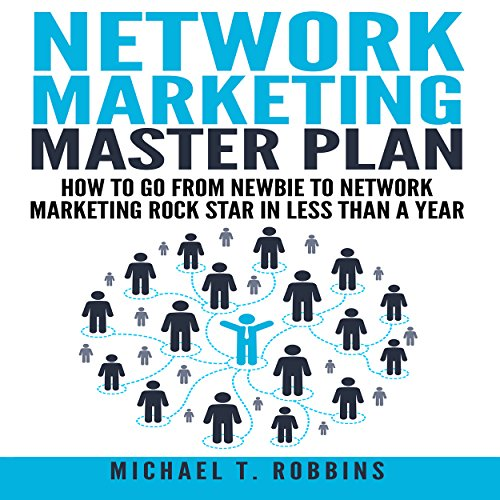 Network Marketing Master Plan audiobook cover art