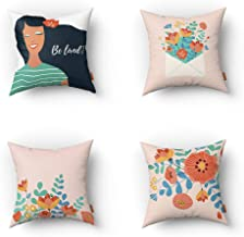 almofadas decorativas sofa quarto Jardim Floral 04 UNIDADES