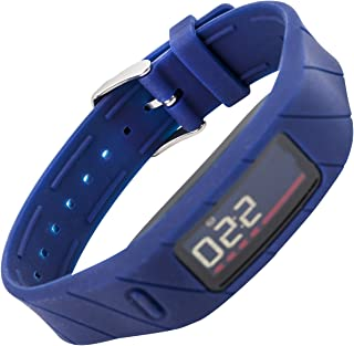 WITHit Replacement Band for use with Garmin Vivofit 2, Replacement Wristband Compatible with Garmin Vivofit 2 Fitness Tracker (Blue)