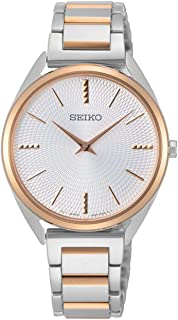 Seiko ladies Womens Analog Quartz Watch with Stainless Steel bracelet SWR034P1