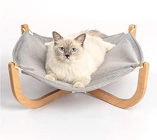 pidan Cat Hammock Cat Lounge Beds for Indoor Pet Wooden Frame Hanging Beds